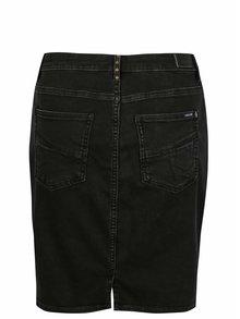 Čierna rifľová sukňa Gracia Jeans