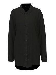 Čierna dlhá košeľa Jacqueline de Yong Togo