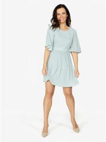 Svetlozelené šaty s 3/4 rukávom VERO MODA Amanda