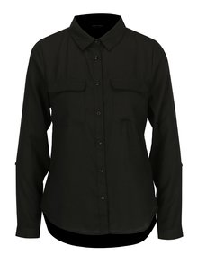 Čierna košeľa s vreckami TALLY WEiJL