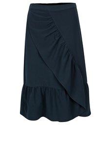 Tmavě modrá sukně s volány VILA Geya