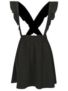 Černá sukně s odepínatelnými kšandami ONLY Vacan