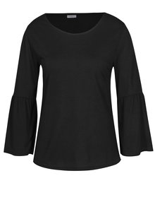 Bluza neagra cu maneci clopot Jacqueline de Yong Minni