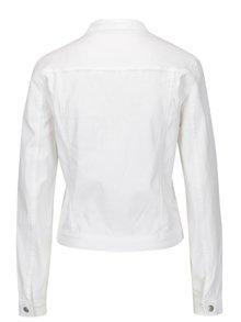Jacheta alba din denim - Jacqueline de Yong Five
