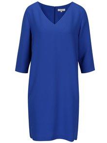 Rochie albastra cu buzunare si maneci 3/4 - Selected Femme Tunni