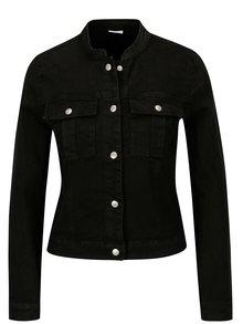Jacheta neagra din denim - Jacqueline de Yong Five