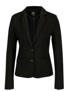 Čierne dámske sako ONLY Poptrash