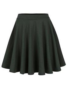 Zelená kolová sukně s kapsami ZOOT