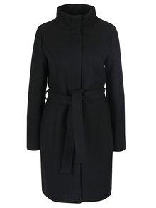 Palton negru din amestec de lana VILA Bee