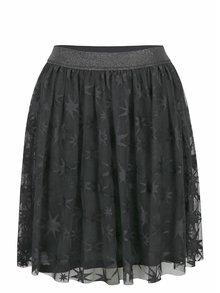 Černá tylová vzorovaná sukně Rich & Royal