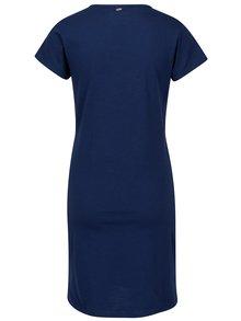 Rochie albastra cu print pentru femei - Cars