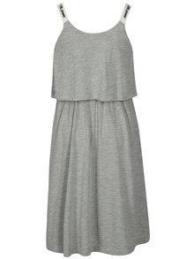Sivé šaty na ramienka LIMITED by name it Sinet
