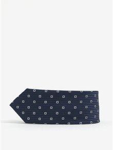 Tmavomodrá chlapčenská vzorovaná kravata name it Mixi