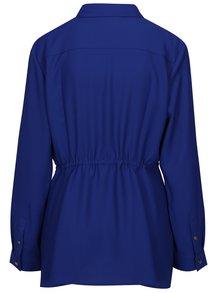 Camasa albastra cu snur in talie DKNY