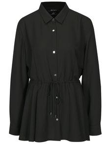Camasa neagra cu snur in talie DKNY