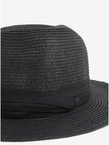 Čierny klobúk Pieces Ida