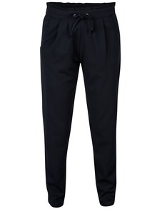 Pantaloni bleumarin cu siret Jacqueline de Yong Catia