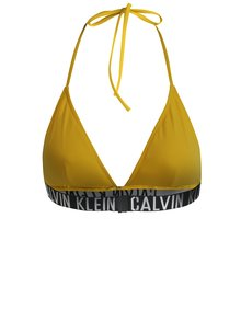 Sutien de baie galben cu logo - Calvin Klein