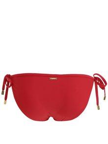 Červený spodný diel plaviek Calvin Klein