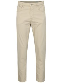 Blugi crem tapered fit - Selected Homme Toby