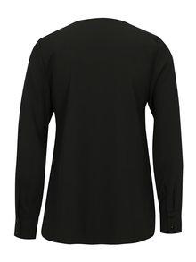 Bluza neagra cu aplicatie din strasuri pe buzunar Dorothy Perkins