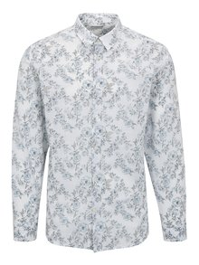 Camasa alba cu print floral - Selected One Florals