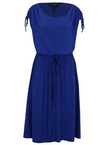 Rochie albastra cu siret pe umeri Dorothy Perkins Curve