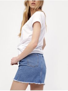 Fusta albastra din denim - ONLY Wilda
