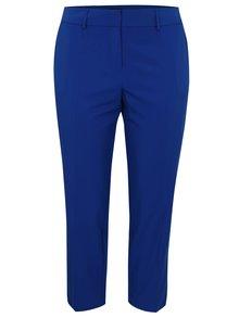 Modré skrátené nohavice Dorothy Perkins Curve