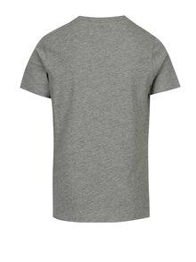 Šedé klučičí tričko s potiskem LIMITED by name it