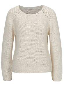 Pulover tricotat crem cu maneci raglan - Selected Femme Folga