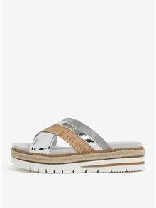 Papuci cu platforma si barete suprapuse - Tamaris