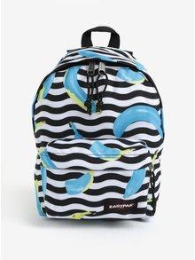 Modro-čierny vzorovaný batoh Eastpak Orbit 10 l