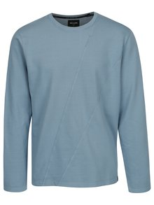 Bluza sport albastra cu cusaturi decorative - ONLY & SONS Knox