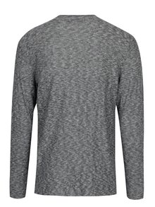 Sivý melírovaný tenký sveter ONLY & SONS Paldin
