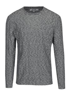 Šedý žíhaný lehký svetr ONLY & SONS Paldin