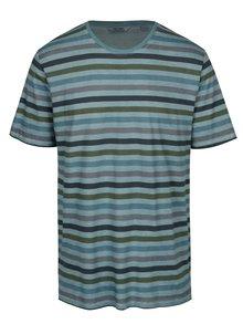 Světle modré pruhované tričko ONLY & SONS Sune
