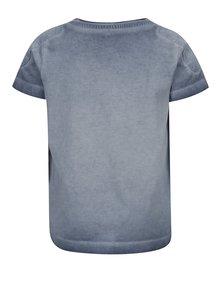 Modré klučičí tričko s potiskem name it Kaspar