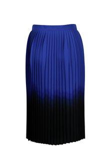 Modro-čierna plisovaná sukňa DKNY