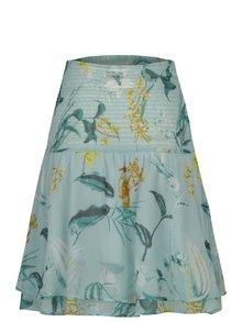 Svetlozelená tehotenská kvetovaná sukňa Mama.licious Lemonade