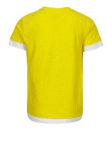 Žlté detské tričko s vreckom name it Jimmy