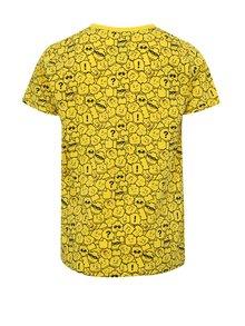 Žluté klučičí vzorované tričko Lego Wear