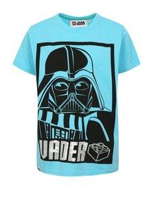 Modré chlapčenské tričko s potlačou Star Wars Lego Wear