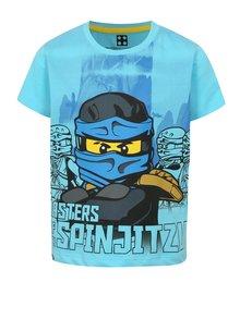 Modré chlapčenské tričko s potlačou Lego Wear