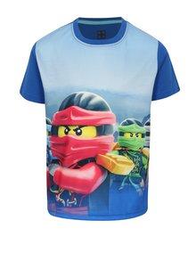 Ružovo-modré chlapčenské tričko s potlačou Lego Wear