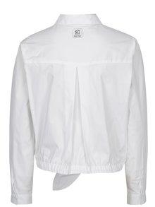 Bílá košile na zavazování s výšivkou SH Refente