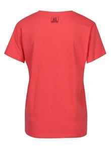 Koralové tričko s potlačou SH Caririacu
