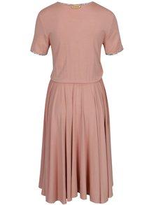 Ružové šaty SEVERANKA