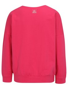 Bluza sport roz inchis cu mesaj - SH Venecia