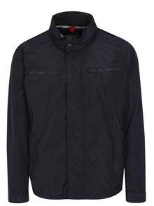 Modrá pánska bunda s kapucňou Geox